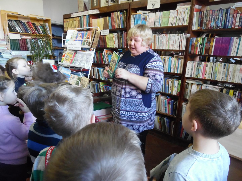 Дошкольники отметили Международный день школьных библиотек.