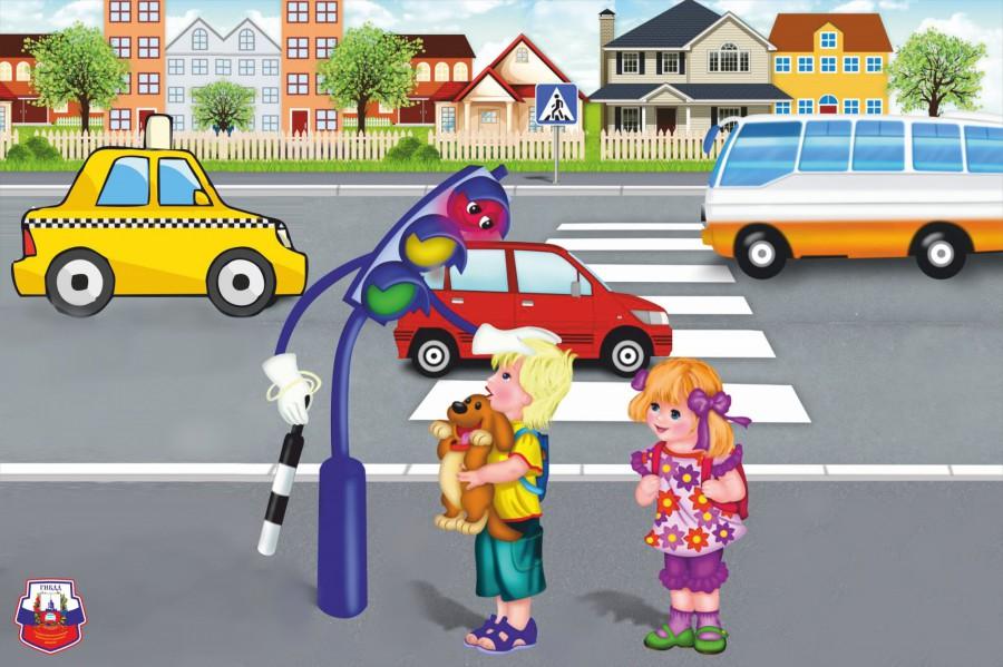 Акция «Безопасность детей на дорогах»